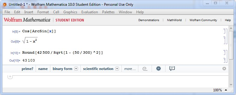 equations in Mathematica