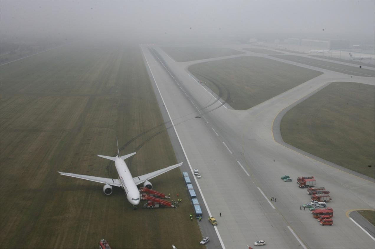 Singapore airlines 777-3000ER incident in Munich (by BFU)